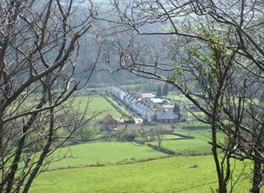 View of Esk Valley cottages